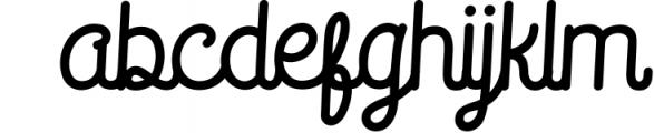Saffa Recordminded Font LOWERCASE