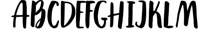 Saintpaulia Font UPPERCASE