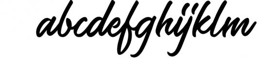 Saltery Brush Font 1 Font LOWERCASE