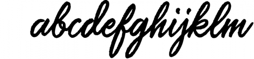 Saltery Brush Font 3 Font LOWERCASE
