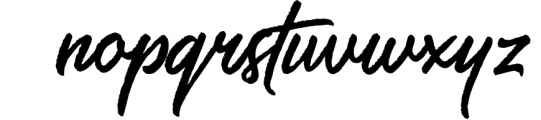 Saltery Brush Font 4 Font LOWERCASE