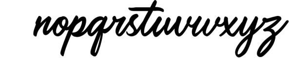 Saltery Brush Font Font LOWERCASE