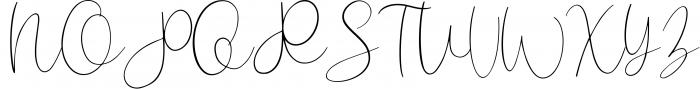Santoy | Hand Lettering Font Font UPPERCASE