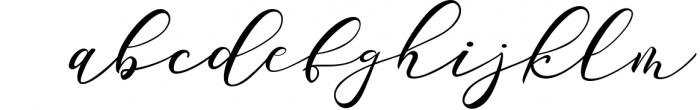 Sarodime - Romantic Calligraphy Font Font LOWERCASE