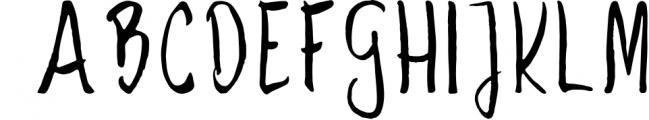 Savory Font UPPERCASE