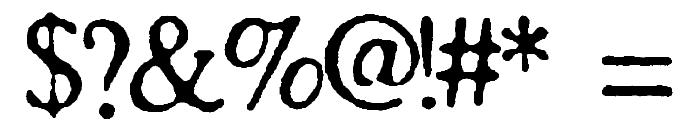 SA Cinta Font OTHER CHARS