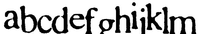 SA Cinta Font LOWERCASE
