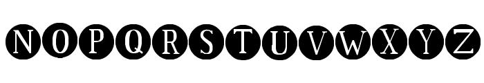 SA Dots Font UPPERCASE
