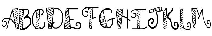 SA Patrotic Font UPPERCASE