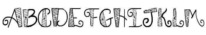 SA Patrotic Font LOWERCASE