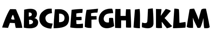 SAF Font UPPERCASE