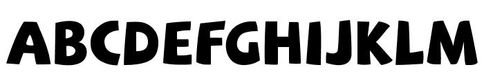 SAF Font LOWERCASE