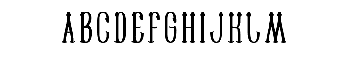 SAILORMAN Font UPPERCASE
