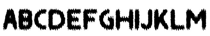 SAINT Font UPPERCASE
