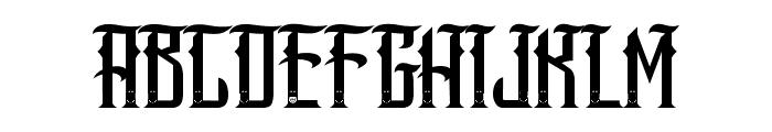 SANG JAWARA Font UPPERCASE