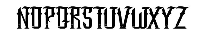 SANG JAWARA Font LOWERCASE