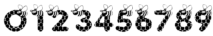 SAVE THE HONEYBEE Font OTHER CHARS