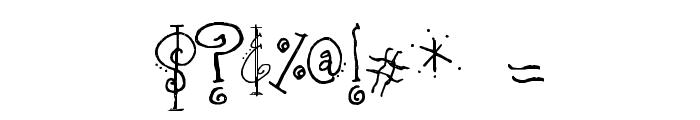 SA_Fussy Font OTHER CHARS