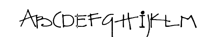 SA_Kiss Font UPPERCASE