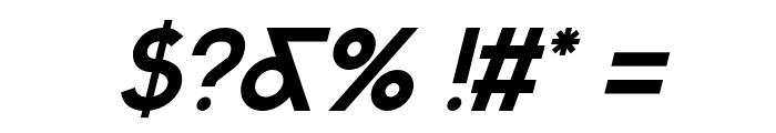 Sabado-Italic Font OTHER CHARS