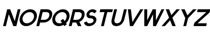 Sabado-Italic Font UPPERCASE