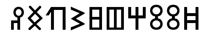 SabaeanGG Font OTHER CHARS