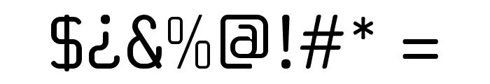 Sabatica Font OTHER CHARS