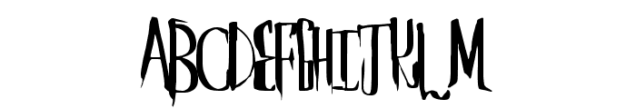 SaberHusk Font UPPERCASE