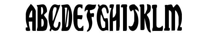 Sable Lion Condensed Font LOWERCASE