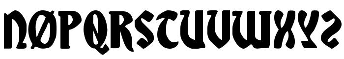 Sable Lion Font UPPERCASE