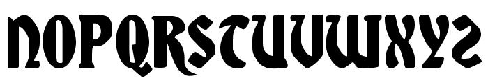 Sable Lion Font LOWERCASE
