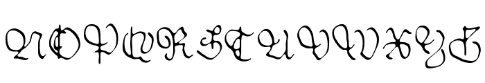 Sable Font UPPERCASE