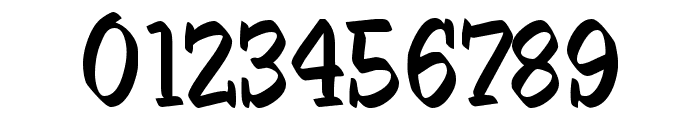 SableBrush Font OTHER CHARS