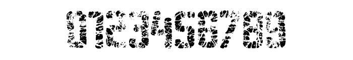 Sablon Washed Mega Font OTHER CHARS