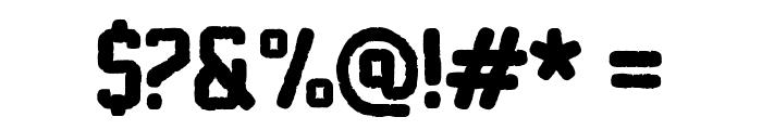 Sablon Washed Normal Font OTHER CHARS