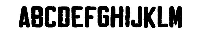 Sablon Washed Normal Font UPPERCASE