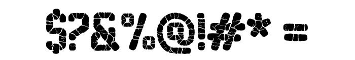 Sablon Washed Super Font OTHER CHARS