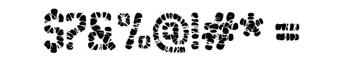 Sablon Washed Ultra Font OTHER CHARS