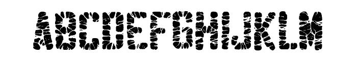 Sablon Washed Ultra Font UPPERCASE