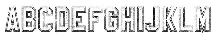 SablonUp-OutlineAlt Font UPPERCASE
