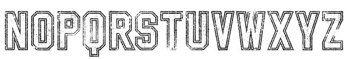 SablonUp-OutlineAlt Font LOWERCASE