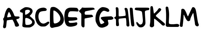 Sacha_Sharpie_2 Font UPPERCASE