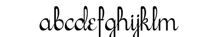 Sachiko Font LOWERCASE