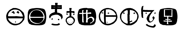 SacredOldSymbols Font OTHER CHARS