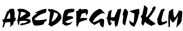 Sacrifice Font UPPERCASE