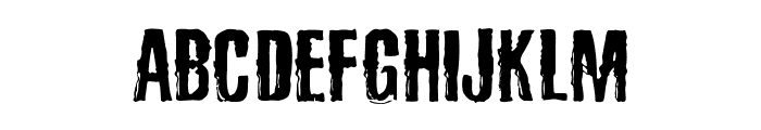 SadKropotkinLaugh Font UPPERCASE