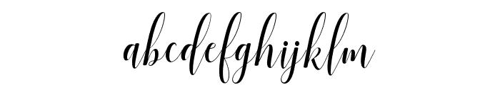 SadhiraDemo Font LOWERCASE