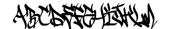 Sadoc Wild Font UPPERCASE