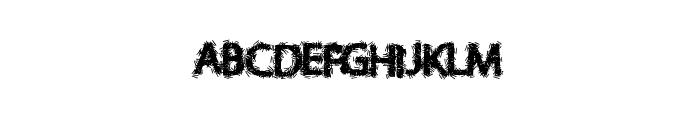 SafePaper Font UPPERCASE