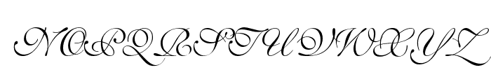 SaffronToo Font UPPERCASE